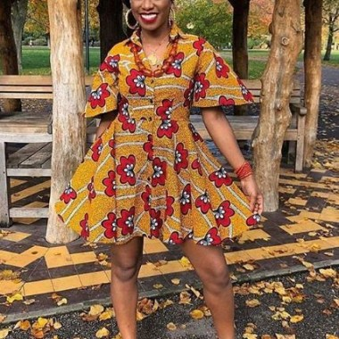 ankara latest styles ankara latest styles - Ankara Latest Styles 45 380x380 - African Fashion: 70+ Creative, Trendy and Stylish Ankara Latest Styles