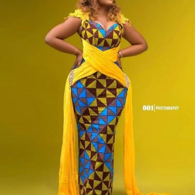 ankara latest styles ankara latest styles - Ankara Latest Styles 7 380x380 - African Fashion: 70+ Creative, Trendy and Stylish Ankara Latest Styles
