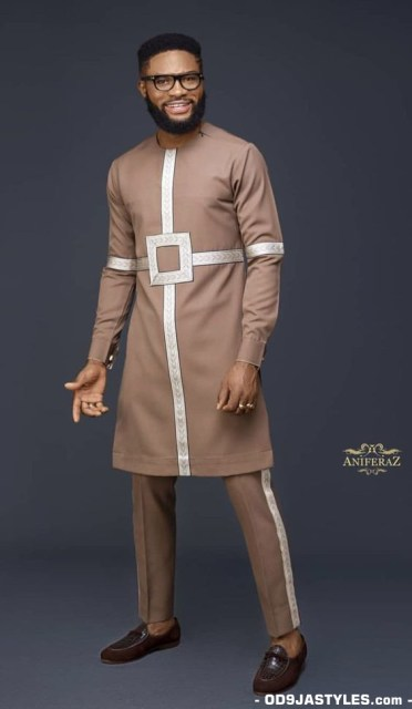 Native Casual Dress Outfits for Nigerian Men native casual dress outfits for nigerian men - Native Casual Dress Outfits for Nigerian Men 10 372x640 - Smart Native Casual Dress Outfits for Nigerian Men
