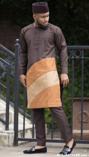 Native Casual Dress Outfits for Nigerian Men native casual dress outfits for nigerian men - Native Casual Dress Outfits for Nigerian Men 9 364x640 - Smart Native Casual Dress Outfits for Nigerian Men