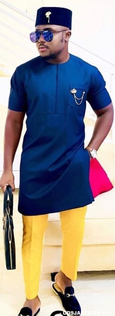 Nigerian Casual Fashion Styles for Men Nigerian Casual Fashion Styles for Men