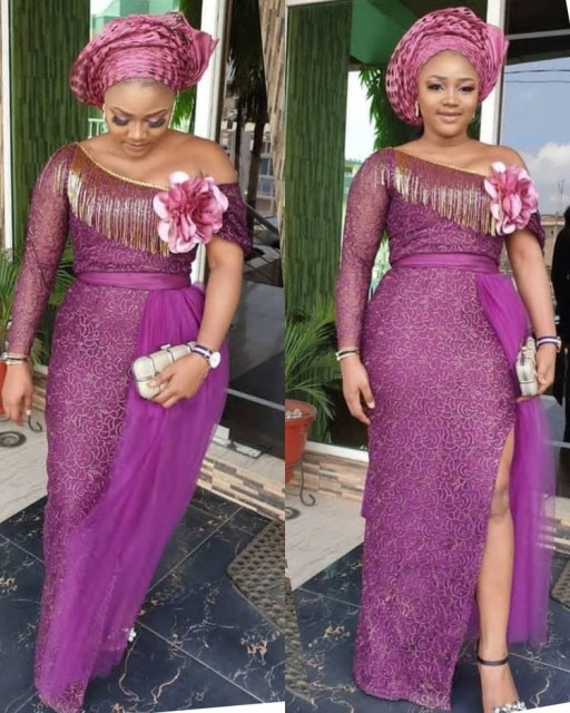 Aso Ebi Styles 2020 aso ebi styles 2020 - Aso Ebi Styles 2020 29 512x640 - 30 Aso Ebi Styles 2020 For Classy African Ladies To Try Out