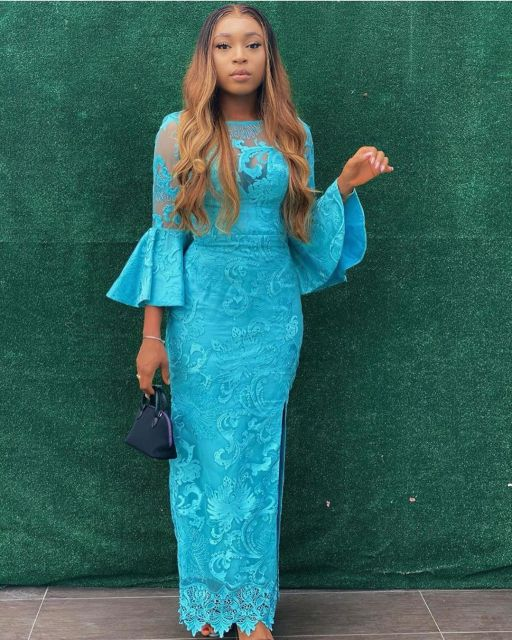 Aso Ebi Styles 2020 aso ebi styles 2020 - Aso Ebi Styles 2020 4 512x640 - 30 Aso Ebi Styles 2020 For Classy African Ladies To Try Out
