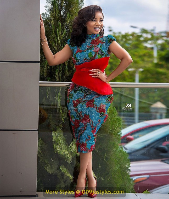 15 Pictures - Great and Amazing Fashion and Styles for Work and Wedding (Serwa Amihere)