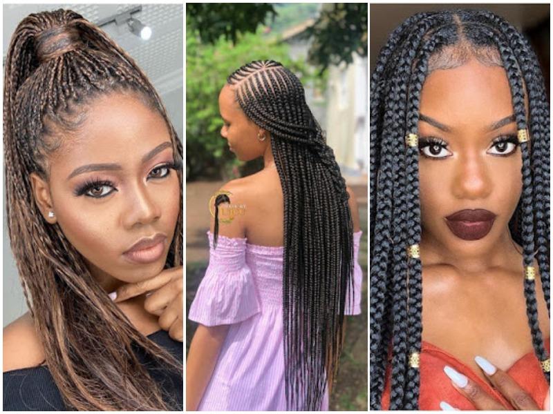 hairstyles braided ladies trendy od9jastyles