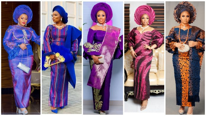 Inspiring and Remarkable Asooke Outfit Inspiration for Reception