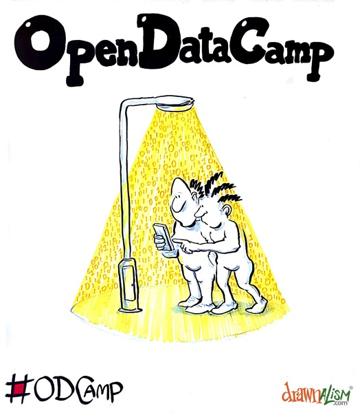 Open Data Camp 3 Bristol 2016 Drawnalism
