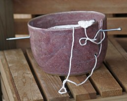 A knitting bowl makes a great gift for yourself or the knitter in your life.