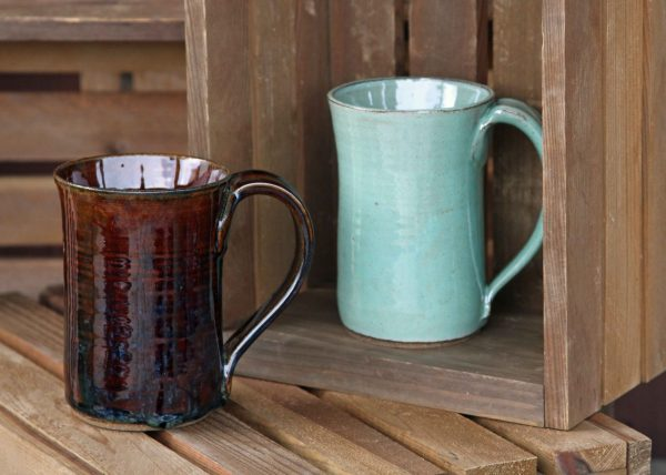 bowls and mugs from Oddbowlz Ceramics
