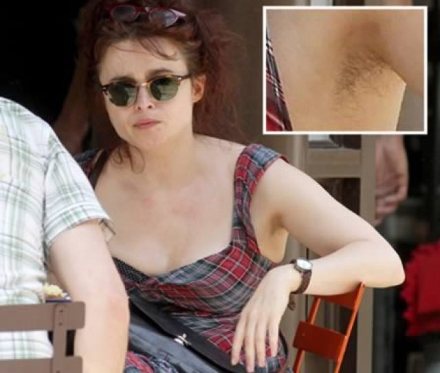 Helena Bonham Carters Tacky Plaid Dress Wasnt Her Only Disaster During Lunch