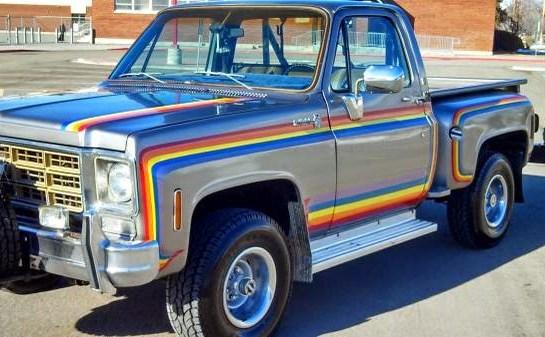 Rainbow Bright's 1977 Chevy Scottsdale CK1