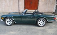 Triumph TR-6 with Nissan RB25DET Power!