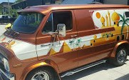 Awesomely Bad, Africa-Themed 70s Van