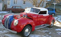 Homemade VW/Chrysler/Ford/Chevy Hot Rod