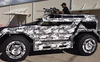 Straight Outta Florida: The Boss Hummer H1, Now Wearing Zombie Apocalypse Gear