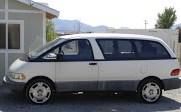 Mid-Engine, Manually-Shifted Van: 1991 Previa