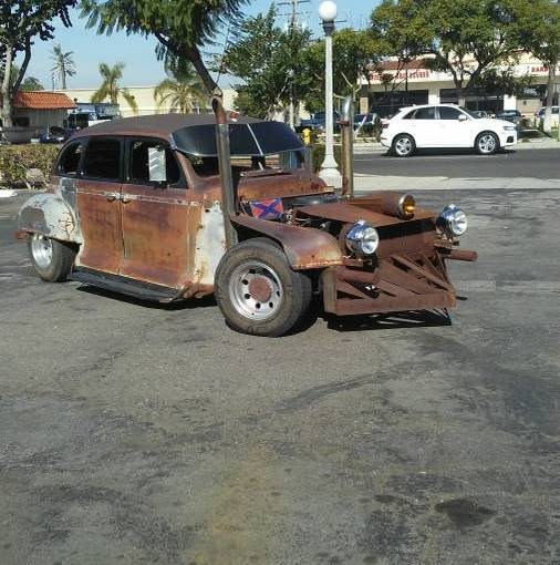 """""""Mad Max"""" Rat Rod based on 1948 Plymouth"""