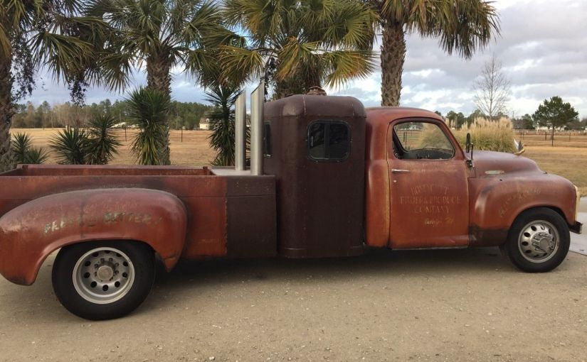 Rat Rod 1954 Studebaker 3R5 on 1979 Chevy Dually Frame