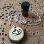Lotus Diffuser Necklace
