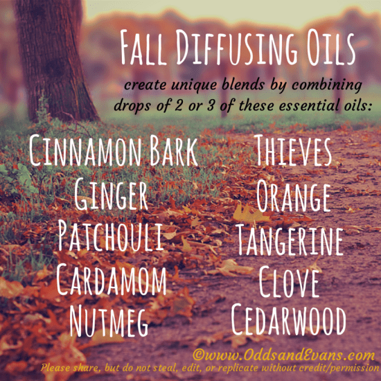 Fall Essential Oil Diffuser Blend Ideas #youngliving #essentialoils #diffusing
