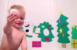 snowball bath bomb kids activity