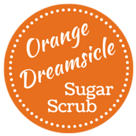 graphic about Printable Sugar Scrub Labels identified as Orange Dreamsicle Sugar Scrub (With Absolutely free Printable Label