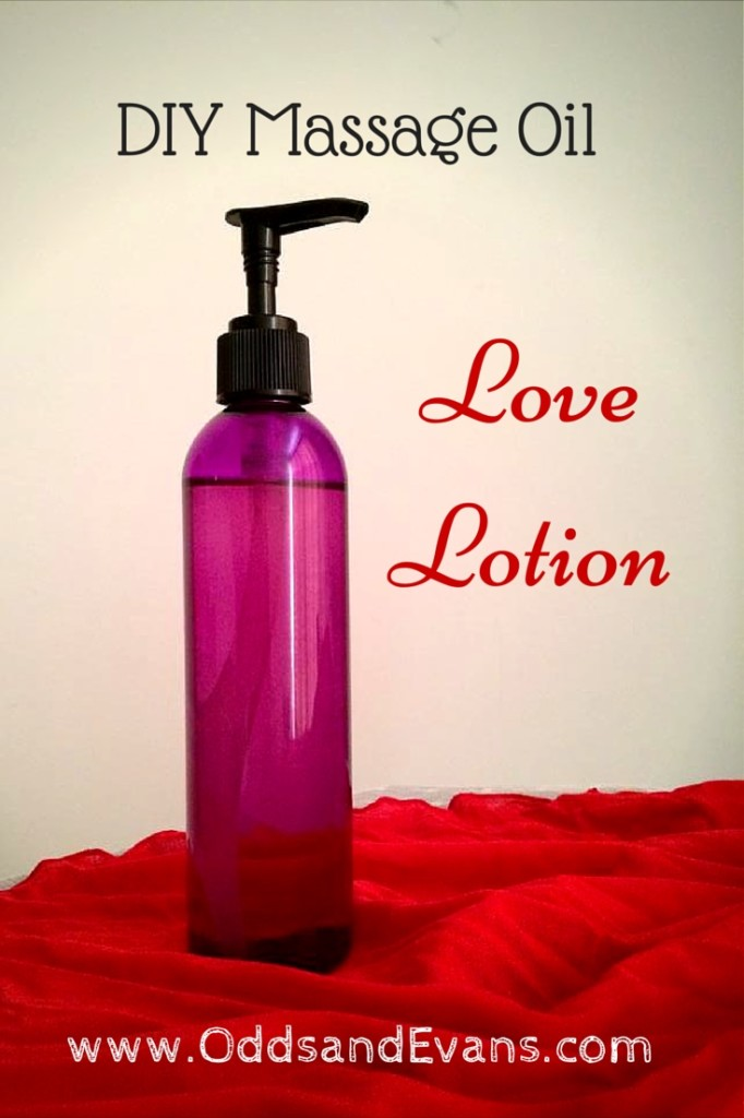 Love Lotion (DIY Massage Oil)