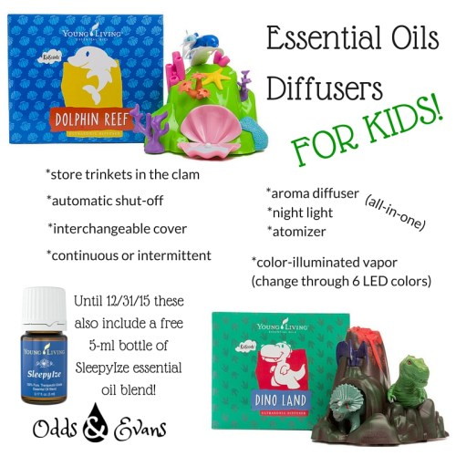 Essential Oils Diffusers for Kids from Young LIving