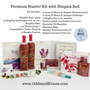 Premium Starter Kit with Ningxia Red from Young Living