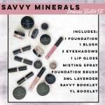 Savvy Minerals New Premium Starter Kit natural makeup cruelty free
