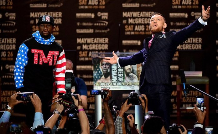 Mayweather vs McGregor Betting Odds Tracker
