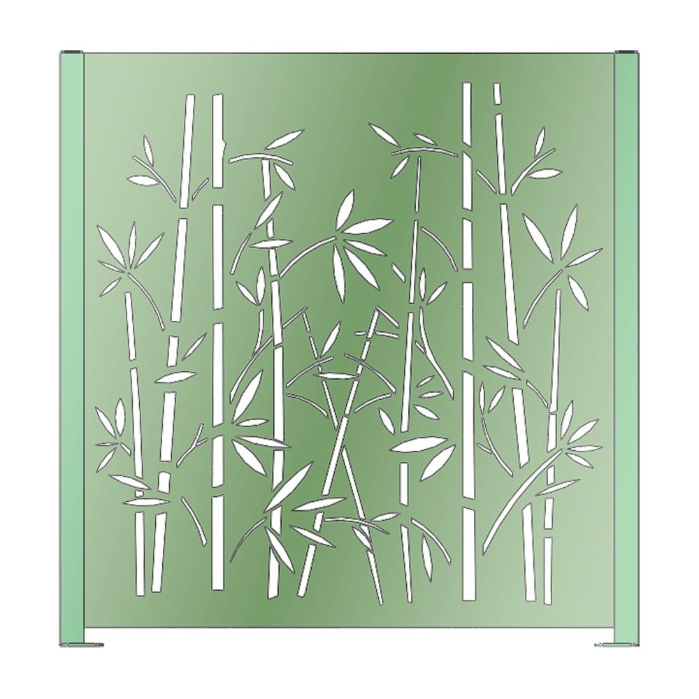 cloture decorative claustra acier claustra alu brise vue acier brise vue en aluminium cloture jardin