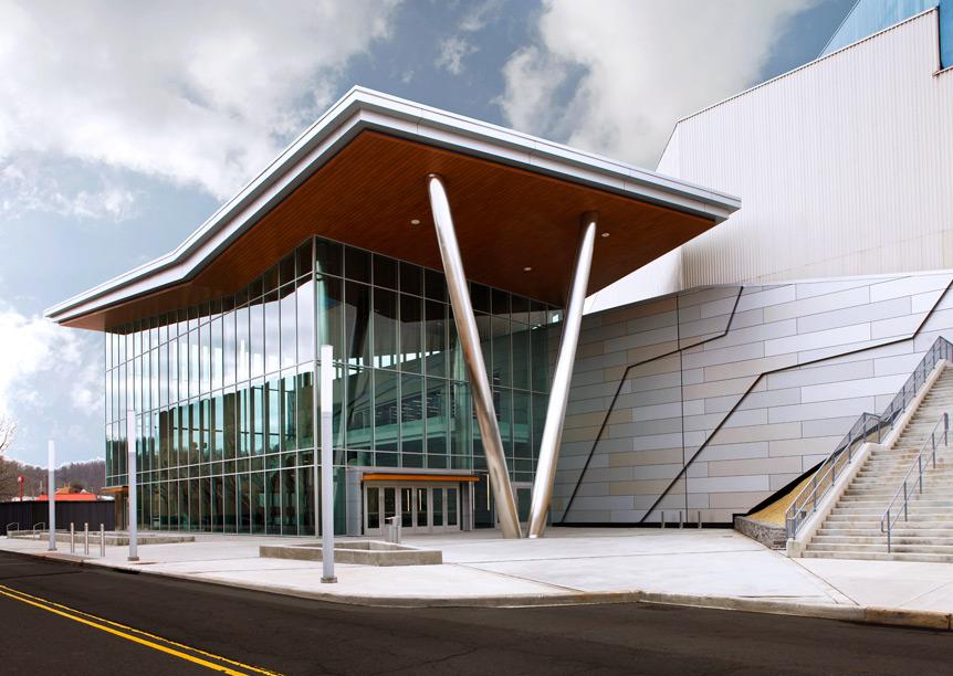 Charleston Civic Center Odell Architecture
