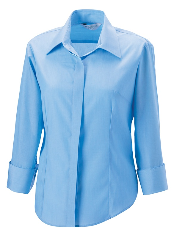 RUSSELL Damen Business Bluse 3/4-Arm