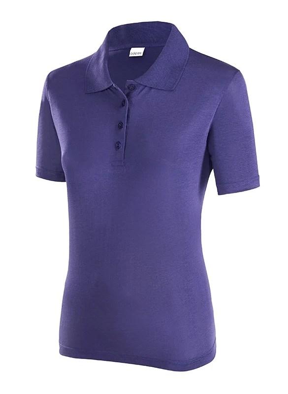 ODEM Damen Kurzarm Polo Shirt in 3 Farben