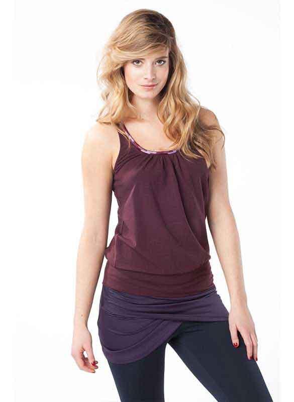 MANDALA Yogawear Damen TENCEL® Flatter Top