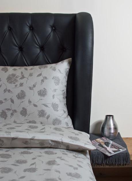 Weiche seidige elegante Luxus Hefel TENCEL® Lyocell Bettwäsche Tuchent Deckenbezug Kissenbezug Muster: Rose Dessin