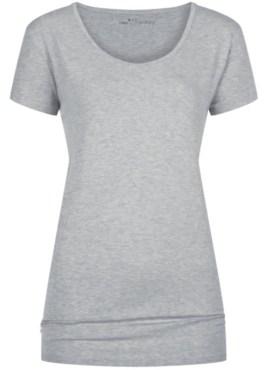 MEY Ariana short-sleeve shirt Top Damen hellgrau melange mit dem hautsympathischen weichen Stoff aus feinster MicroModal® Holzfaser entfaltet auf Ihrer Haut ein besonderes Wohlempfinden.
