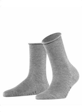 FALKE Active Breeze Damen Socken light grey melange TENCEL™ Lyocell