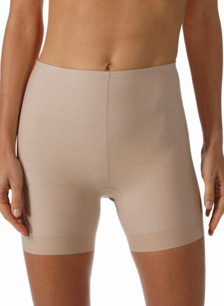 MEY Daily Nova Shape Long-Pants Damen Modal cream tan vorne