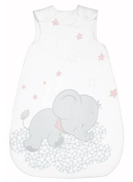 Bebella Vital Lunafant grau-rosa Bebella Vital Baby Schlafsack TENCEL™ / Lyocell