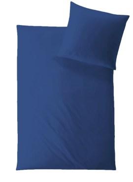 HEFEL Classic Uni Bettwäsche blau TENCEL™ Lyocell