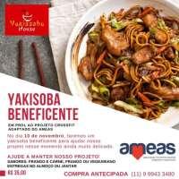 Projeto Crossfit Adaptado do AMEAS realiza Yakissoba Beneficente em São Roque; Participe!