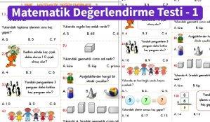 ilkokul_1_Sinif _Matematik_Degerlendirme_Testi_1_Ornek_Resim