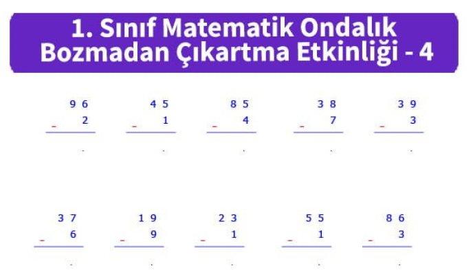 ilkokul_1_Sinif_Matematk_Ondalik_Bozmadan_Cikartma_Etkinligi_4_ornek_resim