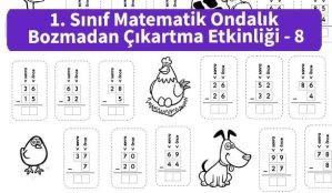 ilkokul_1_Sinif_Matematk_Ondalik_Bozmadan_Cikartma_Etkinligi_8_ornek_resim