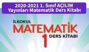 2020-2021_1.Sinif_MEB_Yayinlari_Matematik_Ders_Kitabi