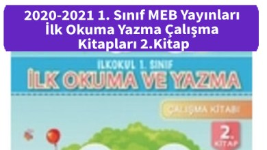 Photo of 2020-2021 1. Sınıf MEB Yayınları İlk Okuma Yazma Çalışma Kitapları 2.Kitap İndir