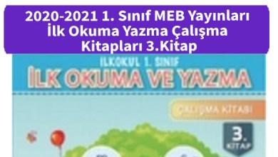 Photo of 2020-2021 1. Sınıf MEB Yayınları İlk Okuma Yazma Çalışma Kitapları 3.Kitap İndir