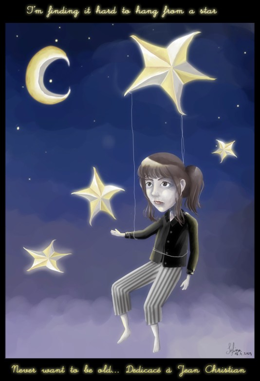 Hang from a star